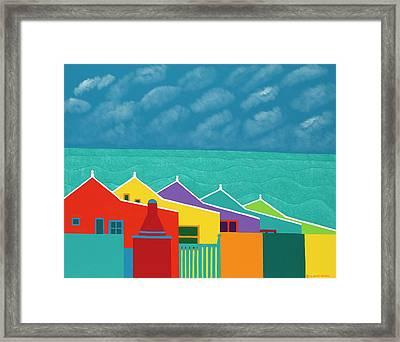 Aruba Fantasy  Framed Print