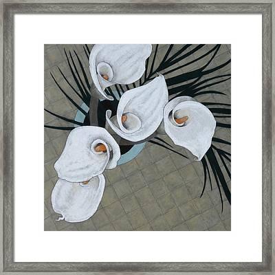Arum, Five Framed Print