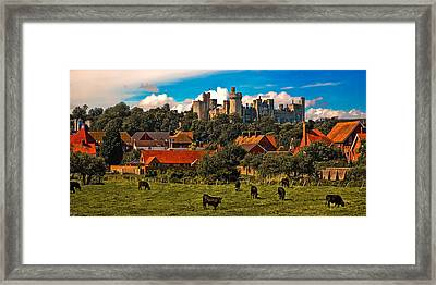Arundel Framed Print by Chris Lord