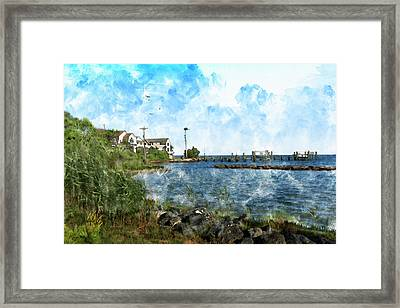Arundel On The Bay Framed Print