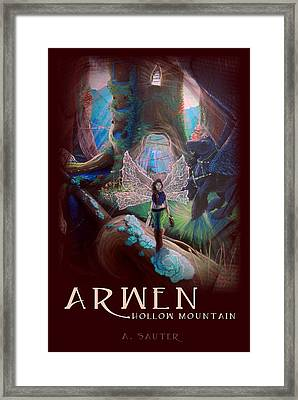 Arwen Hollow Mountain Book Cover Framed Print