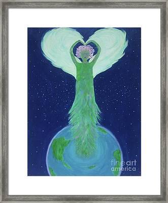 Arya Framed Print by Jade