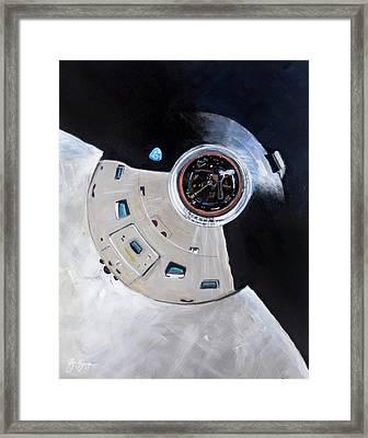 As-503 Apollo 8 Framed Print by Simon Kregar