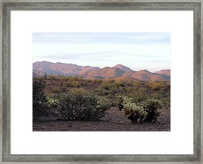 Framed Print featuring the photograph As Evening Falls by Gordon Beck