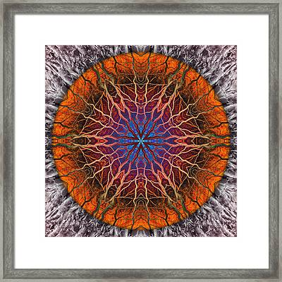 As Far As The Eye Can See Framed Print by Becky Titus