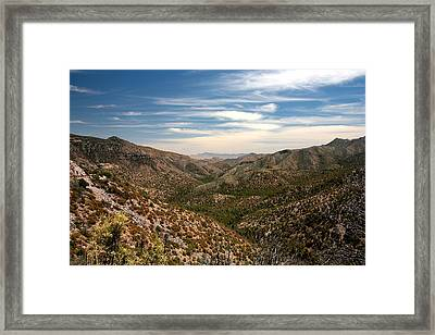 Framed Print featuring the photograph As Far As The Eye Can See by Joe Kozlowski