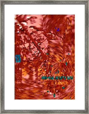As I Exited The Conference I Ignored This Abstraction 2015 Framed Print by James Warren