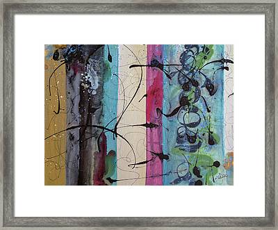 As I Looked Framed Print by Ruth Palmer
