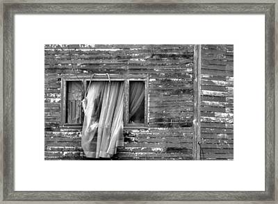 As If A Ghost Framed Print