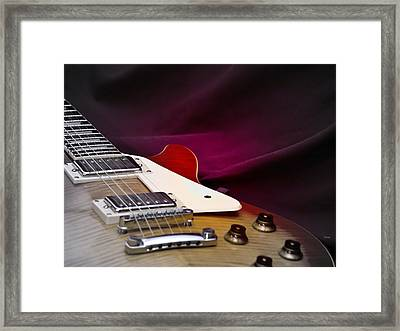 As In Sound Body Framed Print by Steven Digman