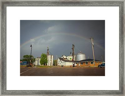 Framed Print featuring the photograph As Luck Would Have It by Viviana  Nadowski