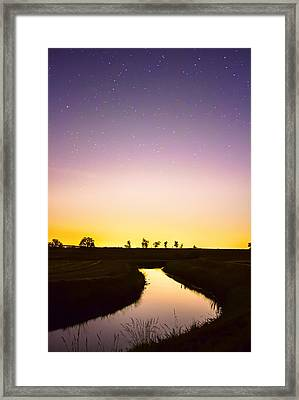 As Nighttime Falls Framed Print by James BO Insogna