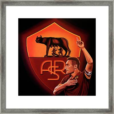 As Roma Rome Painting Framed Print by Paul Meijering