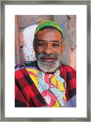 Framed Print featuring the photograph As-salaam Alaikum  by Ramona Johnston