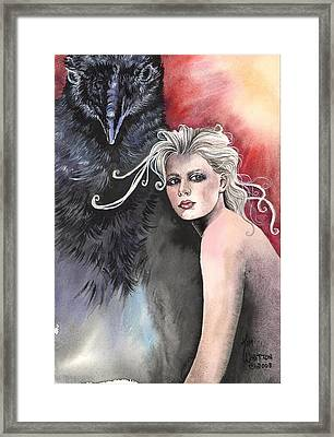 As The Crow Flies Framed Print