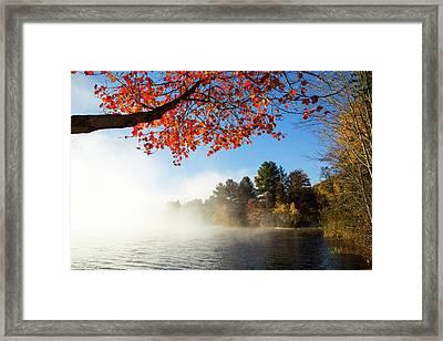 As The Fog Leaves Framed Print