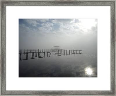 As The Fog Lifts Framed Print by Nicole I Hamilton