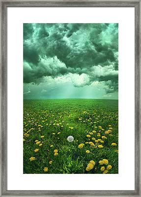 As The Roads Fade Away Framed Print