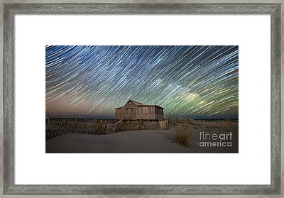 As The Stars Passed By  Framed Print