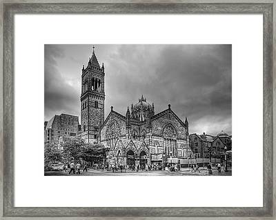 As The World Passes By... Framed Print by Evelina Kremsdorf