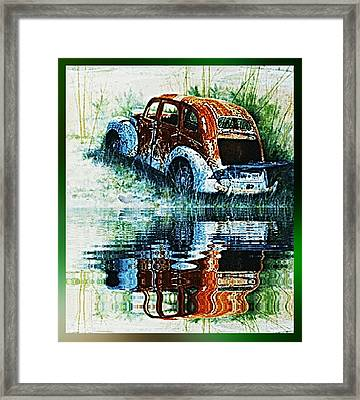As Time Goes By. . . Framed Print