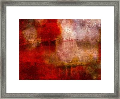As We Go Framed Print