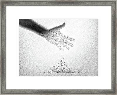 As You Once Were, So You Will Soon Be Framed Print by Mark Fuller