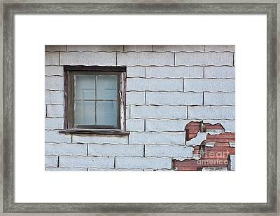 Asbestos Asphalt Composition Shingles Framed Print