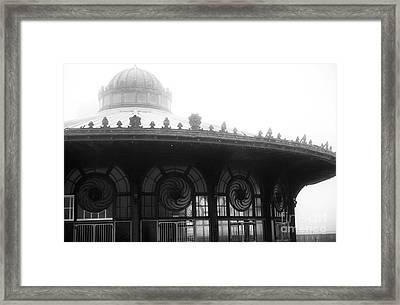 Asbury Casino Windows Framed Print