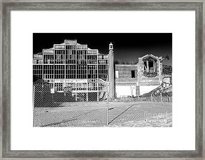 Asbury Park Casino Building Collapse Framed Print