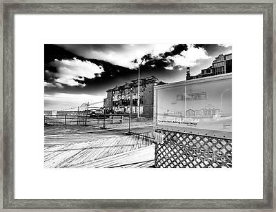Asbury Park Casino Building Concept Design 2006 Framed Print
