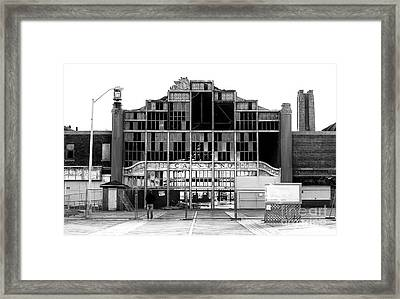 Asbury Park Casino Construction 2006 Framed Print