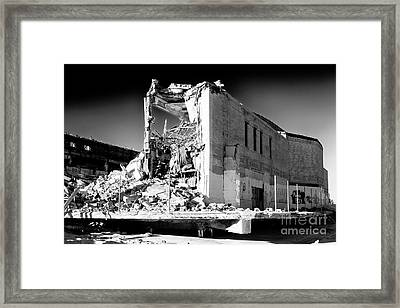 Asbury Park Casino Demolition 2006 Framed Print