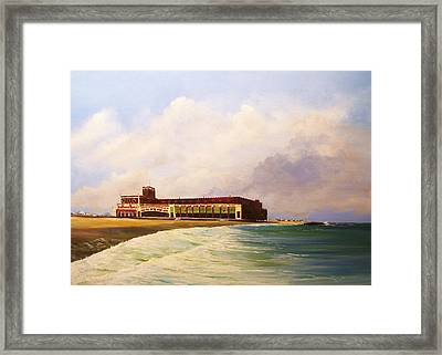 Asbury Park Convention Hall Framed Print by Ken Ahlering