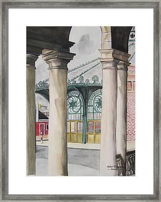 Asbury Park Framed Print by Judy Riggenbach