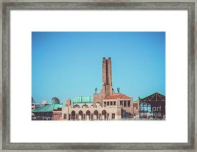Asbury Park Skyline Framed Print