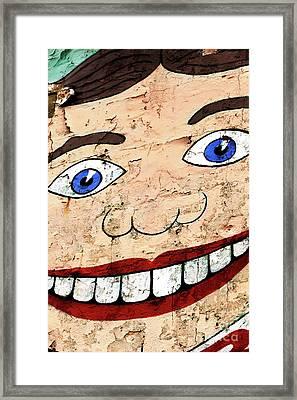Asbury Tillie Smile Framed Print