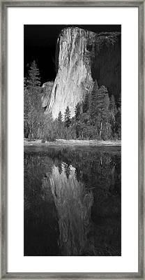 Ascend The Wall II Framed Print