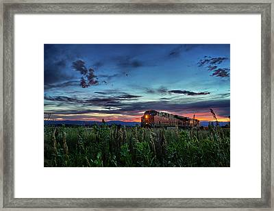 Ascend Framed Print by Thomas Zimmerman