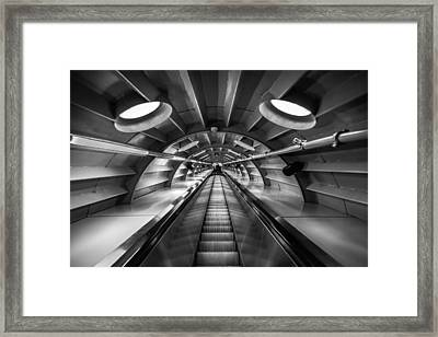 Ascending Framed Print by Chris Fletcher