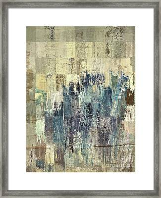 Framed Print featuring the painting Ascension - C03xt-159at2b by Variance Collections