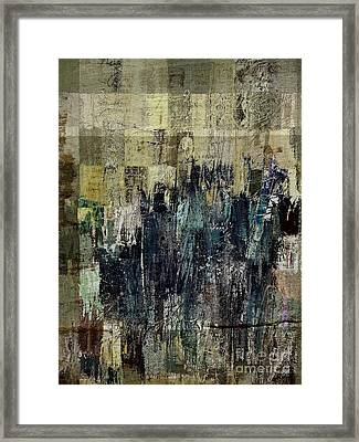 Framed Print featuring the painting Ascension - C03xt-159at2c by Variance Collections