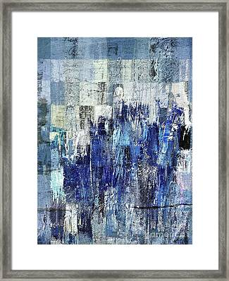 Framed Print featuring the digital art Ascension - C03xt-160at2c by Variance Collections