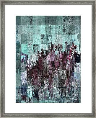 Framed Print featuring the digital art Ascension - C03xt-161at2c by Variance Collections