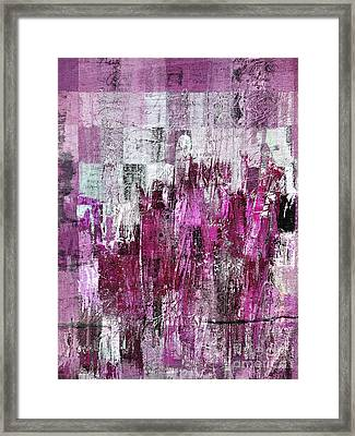 Framed Print featuring the digital art Ascension - C03xt-165at2c by Variance Collections