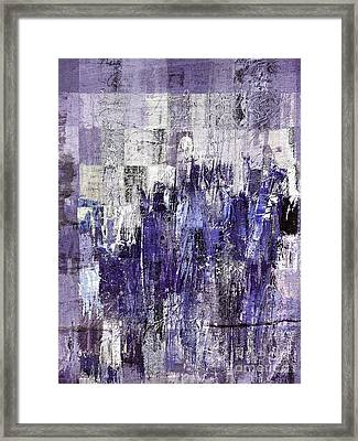Framed Print featuring the painting Ascension - C03xt-166at2c by Variance Collections