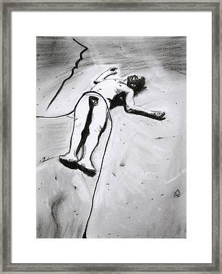 Ascension Framed Print by Cathy Jourdan