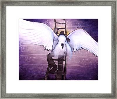 Framed Print featuring the painting Ascension by Christopher Marion Thomas