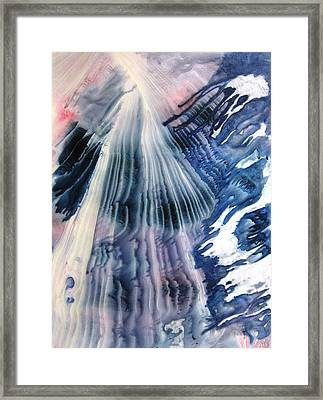 Ascension Framed Print by David Raderstorf