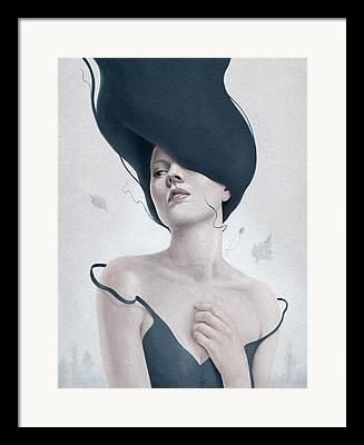 Female Framed Prints